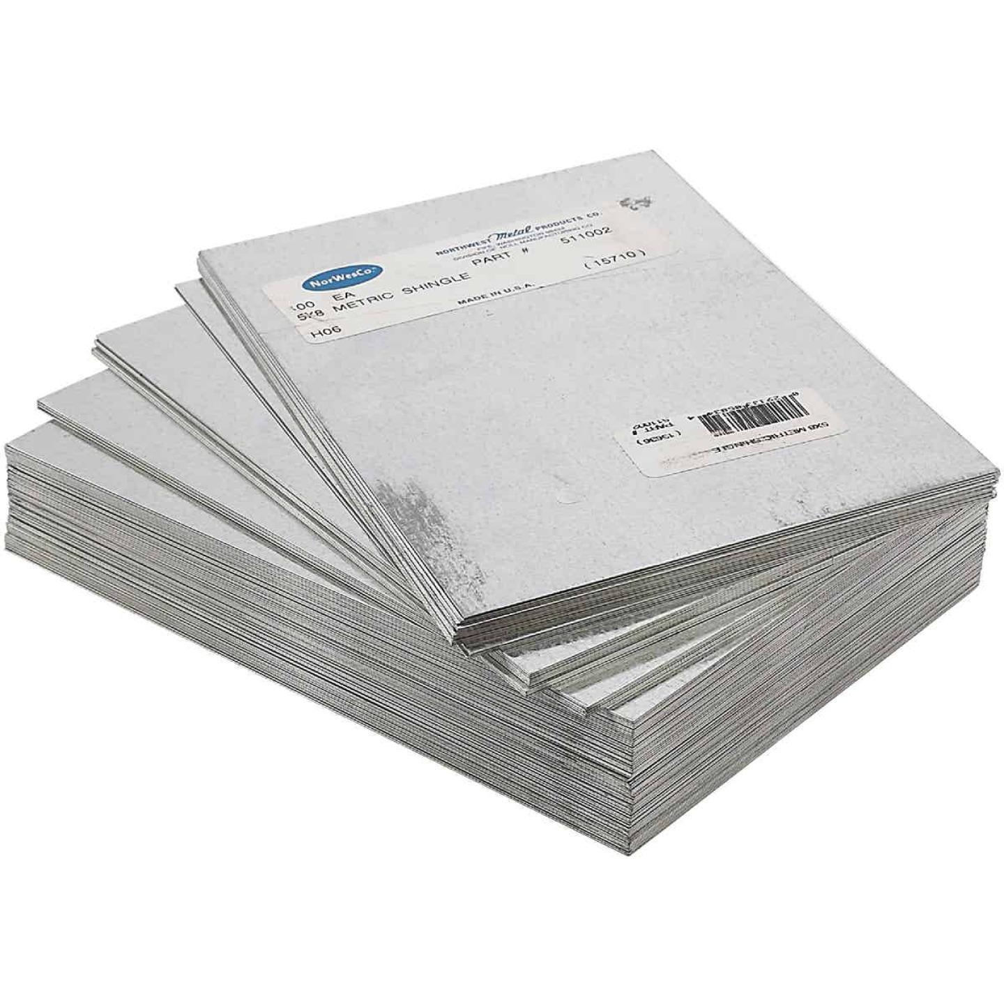 NorWesco 5 In. x 8 In. Mill Galvanized Step Flashing Shingle Image 2