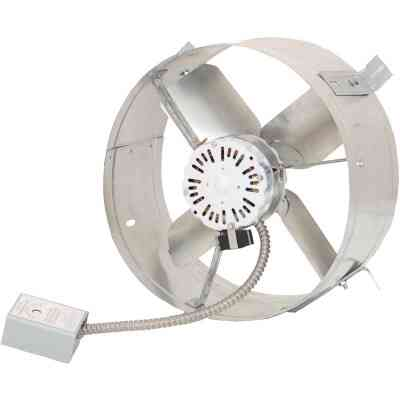 Ventamatic Superior Energy Efficient Galvanized Gable Mount Attic Vent