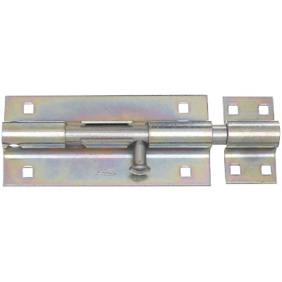 National 8 In. Zinc Extra Heavy-Duty Door Barrel Bolt
