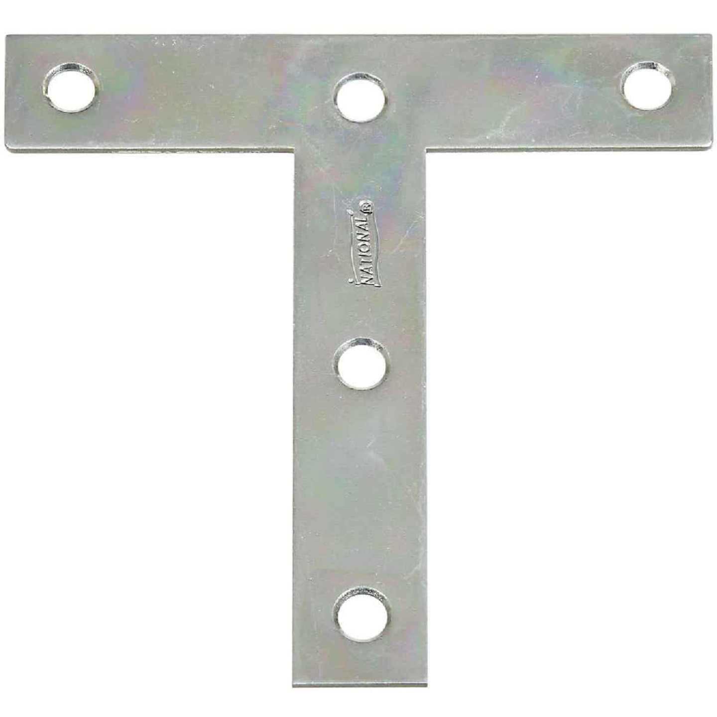 "National 4"" x 4"" Zinc T-Plate, (2-Pack) Image 1"