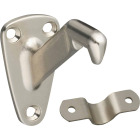 National Gallery Series Satin Nickel Handrail Bracket Image 1