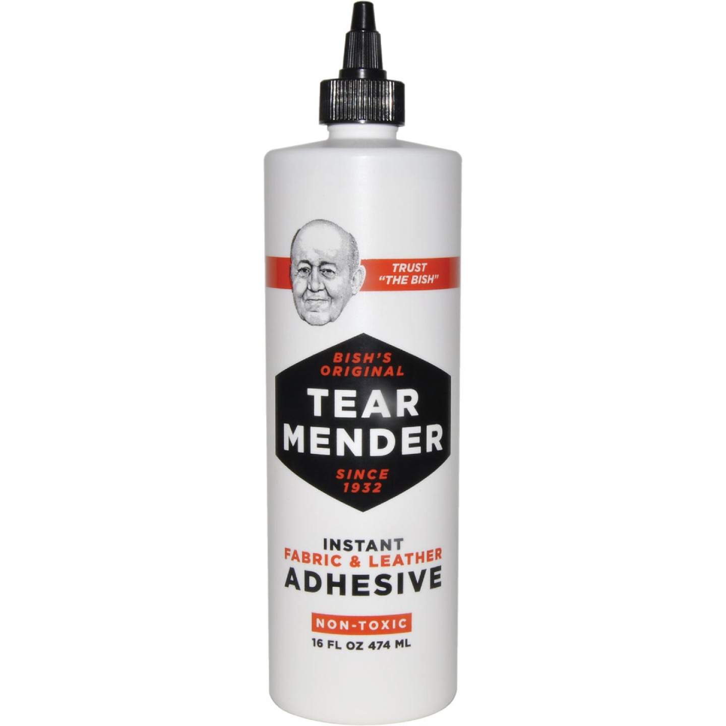 Val A Tear Mender 16 Oz. Leather & Fabric Cement Image 1