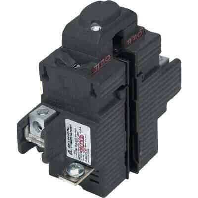 Connecticut Electric 50A Double-Pole Standard Trip Packaged Replacement Circuit Breaker For Pushmatic