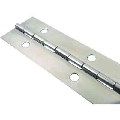 Seachoice Stainless Steel 1-1/2 In.x 6 Ft. Continuous Hinge