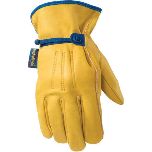 Wells Lamont HydraHyde Men's Large Cowhide Leather Work Glove